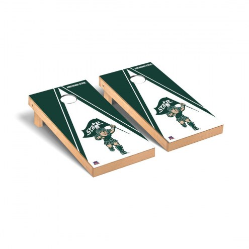 Michigan State Spartans Sparty Triangle Cornhole Game Set