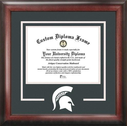 Michigan State Spartans Spirit Diploma Frame