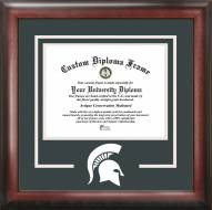 Michigan State Spartans Spirit Diploma Frame