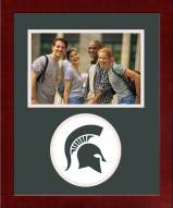 Michigan State Spartans Spirit Horizontal Photo Frame
