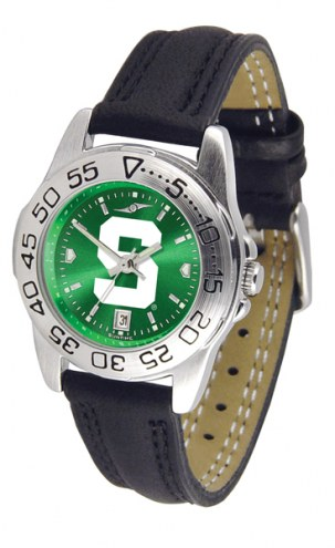 Michigan State Spartans Sport AnoChrome Women's Watch