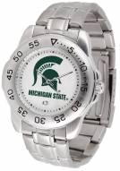 Michigan State Spartans Sport Steel Men's Watch