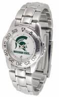 Michigan State Spartans Sport Steel Women's Watch