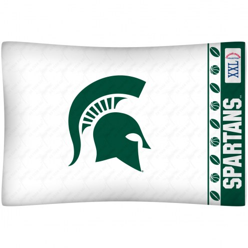 Michigan State Spartans Pillow Case