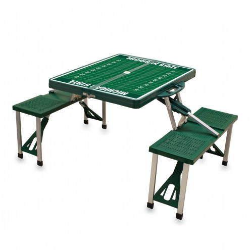 Michigan State Spartans Sports Folding Picnic Table