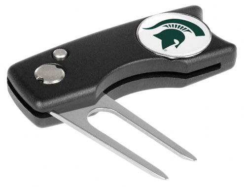 Michigan State Spartans Spring Action Golf Divot Tool