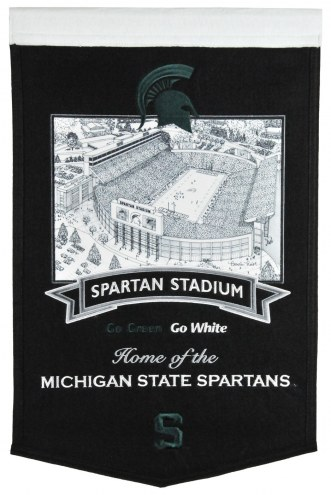 Michigan State Spartans Stadium Banner