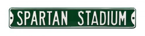 Michigan State Spartans Stadium Street Sign