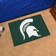 Michigan State Spartans Starter Rug