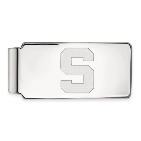 Michigan State Spartans Sterling Silver Money Clip