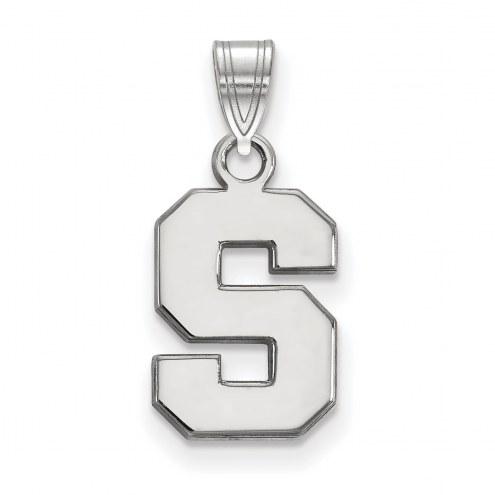 Michigan State Spartans Sterling Silver Small Pendant