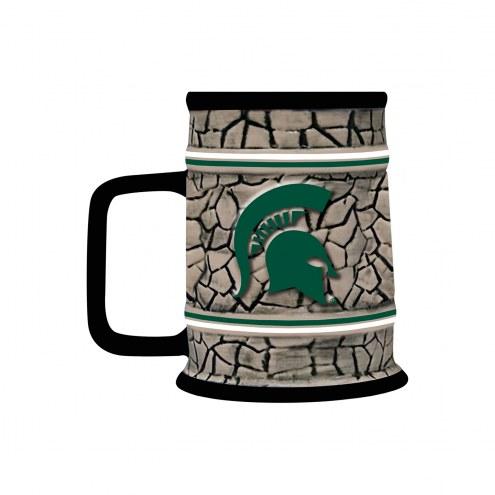 Michigan State Spartans Stone Stein