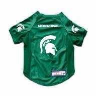 Michigan State Spartans Stretch Dog Jersey
