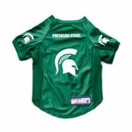 Michigan State Spartans Stretch Dog Jersey