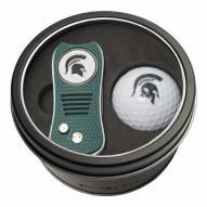 Michigan State Spartans Switchfix Golf Divot Tool & Ball