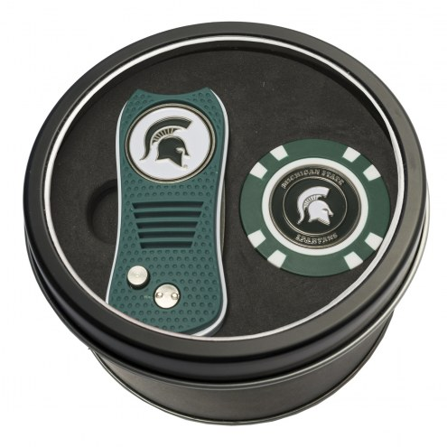 Michigan State Spartans Switchfix Golf Divot Tool & Chip