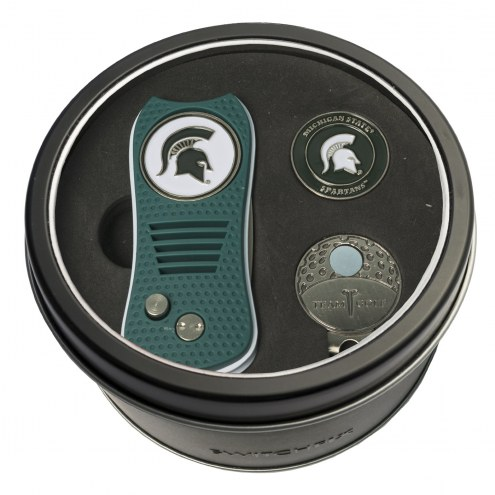 Michigan State Spartans Switchfix Golf Divot Tool, Hat Clip, & Ball Marker