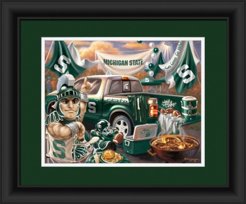 Michigan State Spartans Tailgate Framed Print