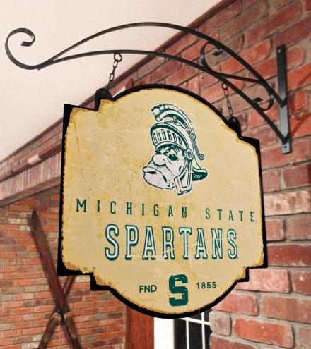 Michigan State Spartans Tavern Sign