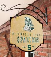 Michigan State Spartans Tavern Sign
