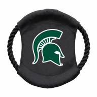 Michigan State Spartans Team Frisbee Dog Toy