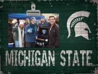 Michigan State Spartans Team Name Clip Frame