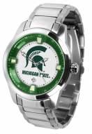 Michigan State Spartans Titan Steel Men's Watch