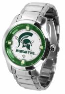 Michigan State Spartans Titan Steel Men's Watch