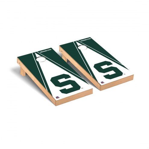 Michigan State Spartans Triangle S Cornhole Game Set