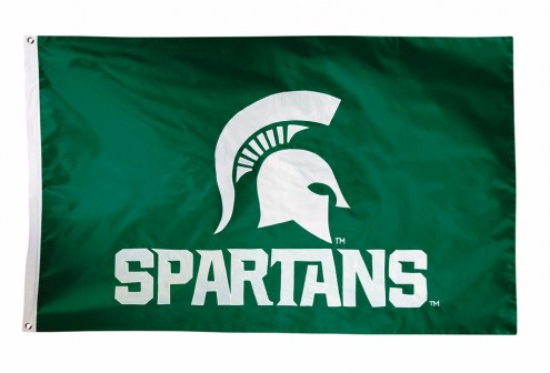 Michigan State Spartans Two Sided 3' x 5' Flag
