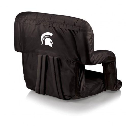 Michigan State Spartans Ventura Portable Outdoor Recliner