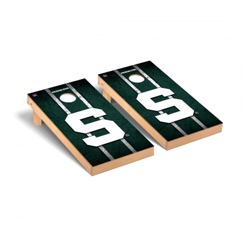 Michigan State Spartans Vintage S Cornhole Game Set