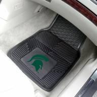 Michigan State Spartans Vinyl 2-Piece Car Floor Mats
