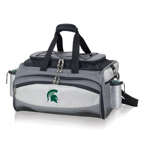 Michigan State Spartans Vulcan Cooler & Propane Grill