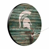 Michigan State Spartans Weathered Design Hook & Ring Game