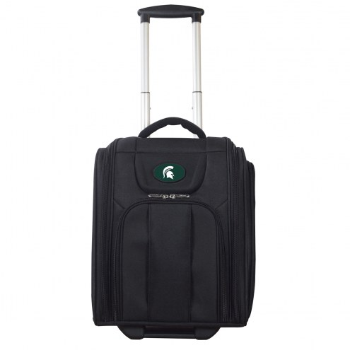 Michigan State Spartans Wheeled Business Tote Laptop Bag