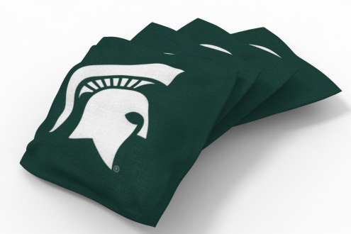 Michigan State Spartans Cornhole Bags - Set of 4