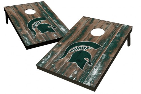Michigan State Spartans Wild Sports Cornhole Set