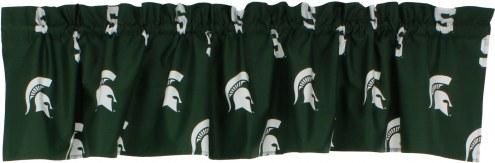 Michigan State Spartans Window Valance