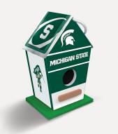 Michigan State Spartans Wood Birdhouse