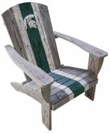 Michigan State Spartans Wooden Adirondack Chair