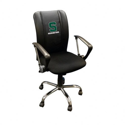 Michigan State Spartans XZipit Curve Desk Chair with Secondary Logo