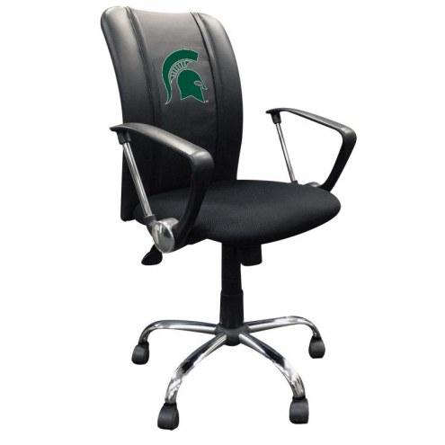 Michigan State Spartans XZipit Curve Desk Chair