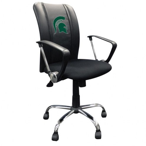 Michigan State Spartans XZipit Curve Desk Chair