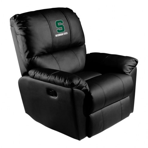 Michigan State Spartans XZipit Rocker Recliner with Secondary Logo