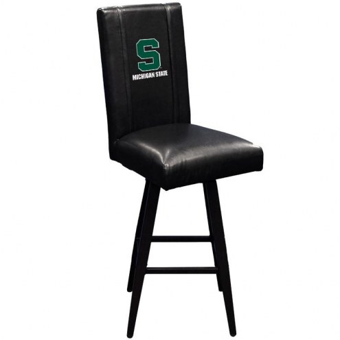Michigan State Spartans XZipit Swivel Bar Stool 2000 with Secondary Logo