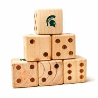 Michigan State Spartans Yard Dice