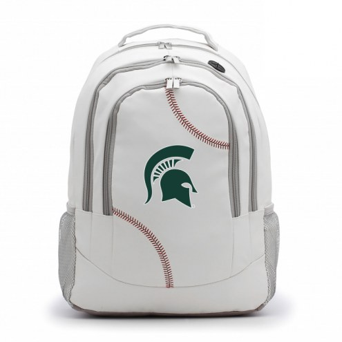 Michigan State Spartans Baseball Backpack