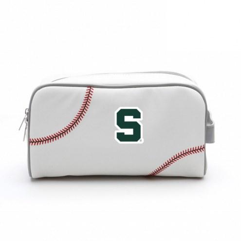 Michigan State Spartans Baseball Toiletry Bag