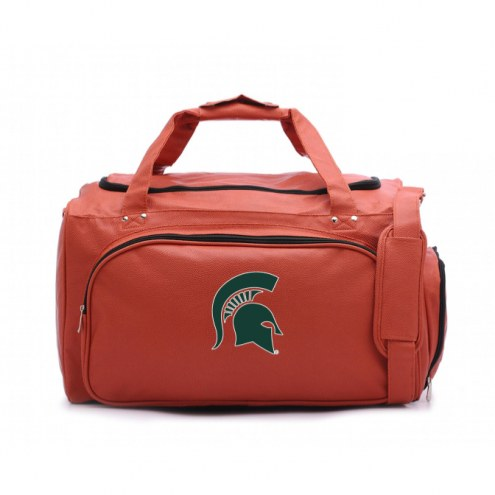 Michigan State Spartans Basketball Duffel Bag